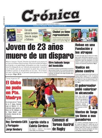 Ed8c814b39847bd43820c52ad56e59b3 by Diario Crónica - issuu c372e62c66e