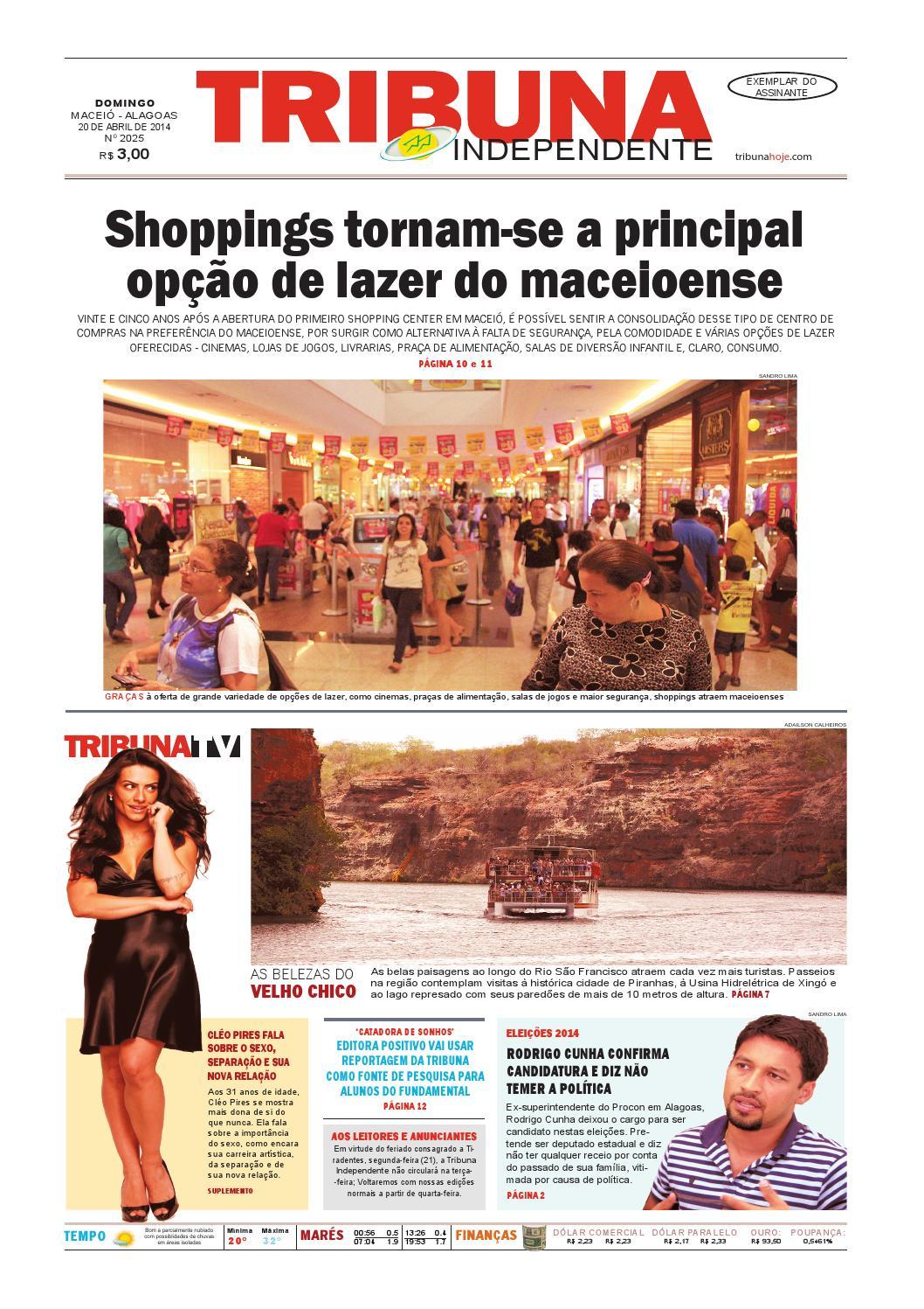 Edição número 2025 - 20 de abril de 2014 by Tribuna Hoje - issuu 05e5f3be79