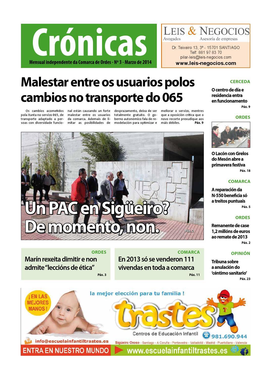 Cronicas Comarcadeordes N3 Marzo2014 By Cr Nicas Peri Dico  # Muebles Visantona
