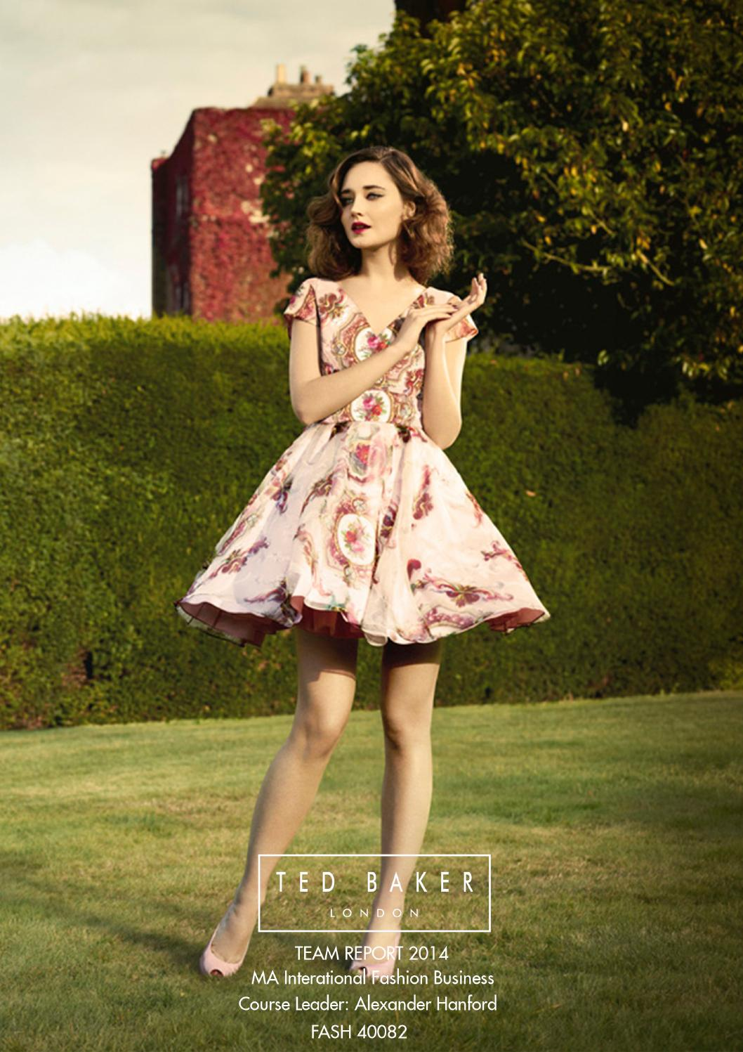 9d7ec9214eb9 Ted Baker Report 2014 by Katherine Chen - issuu