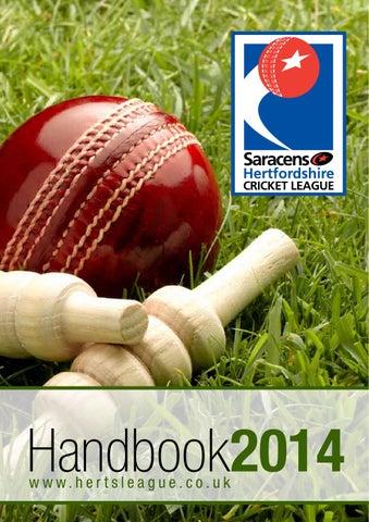 Herts League Handbook 2014
