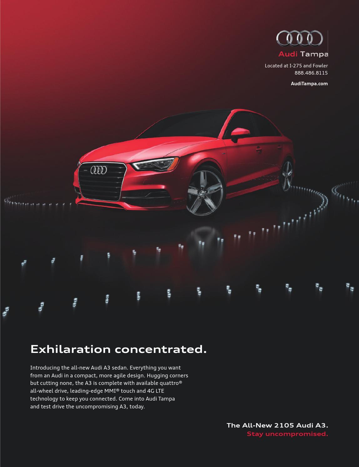 Tampa Bay METRO By Metro Life Media Inc Issuu - Audi tampa