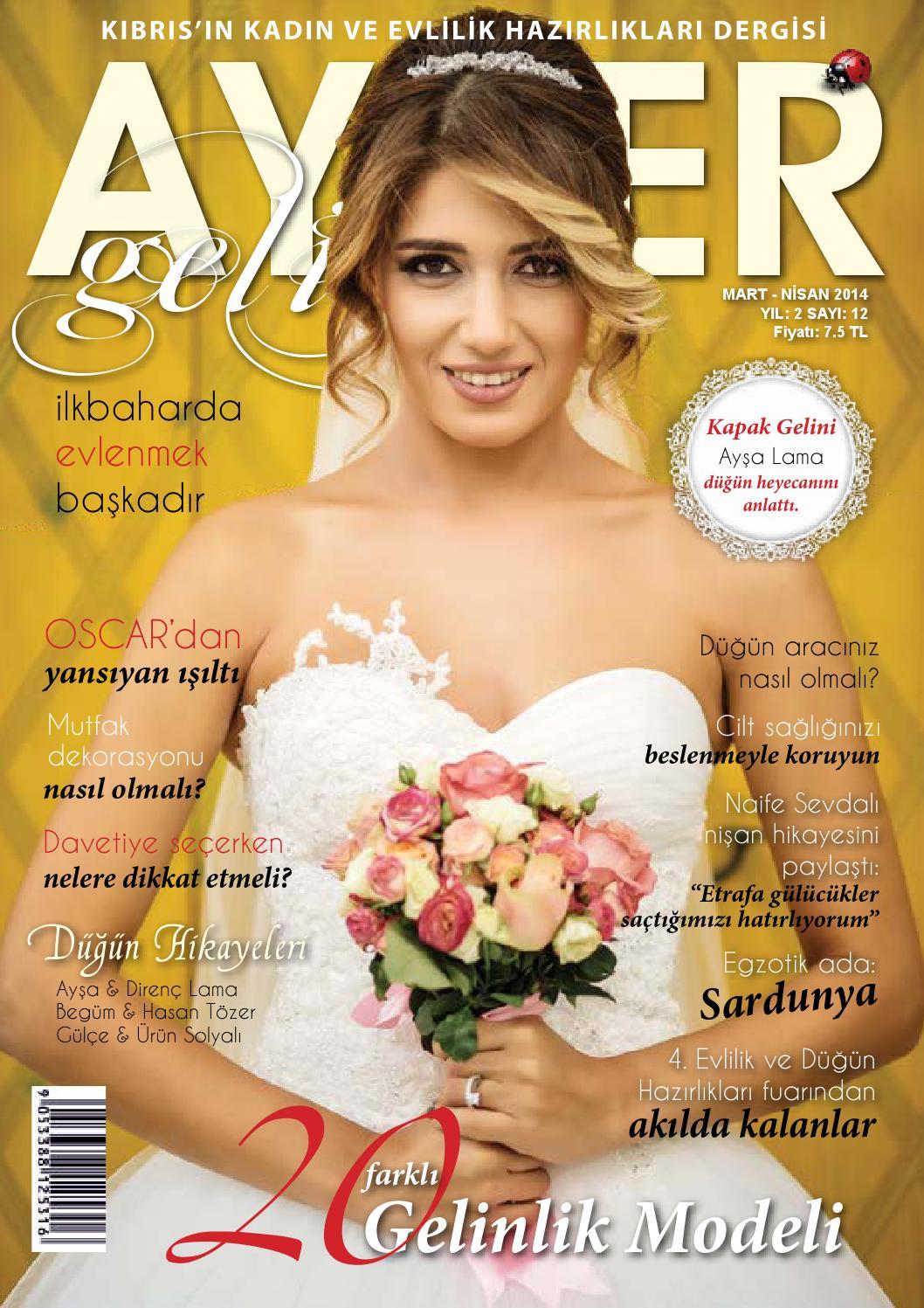 Ayder Gelin Sayı 16 - N.Cyprus Wedding Magazine by ACM I