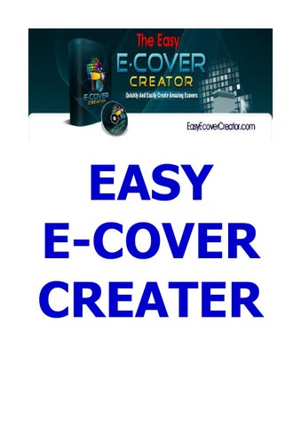 Ebook Cover Generator