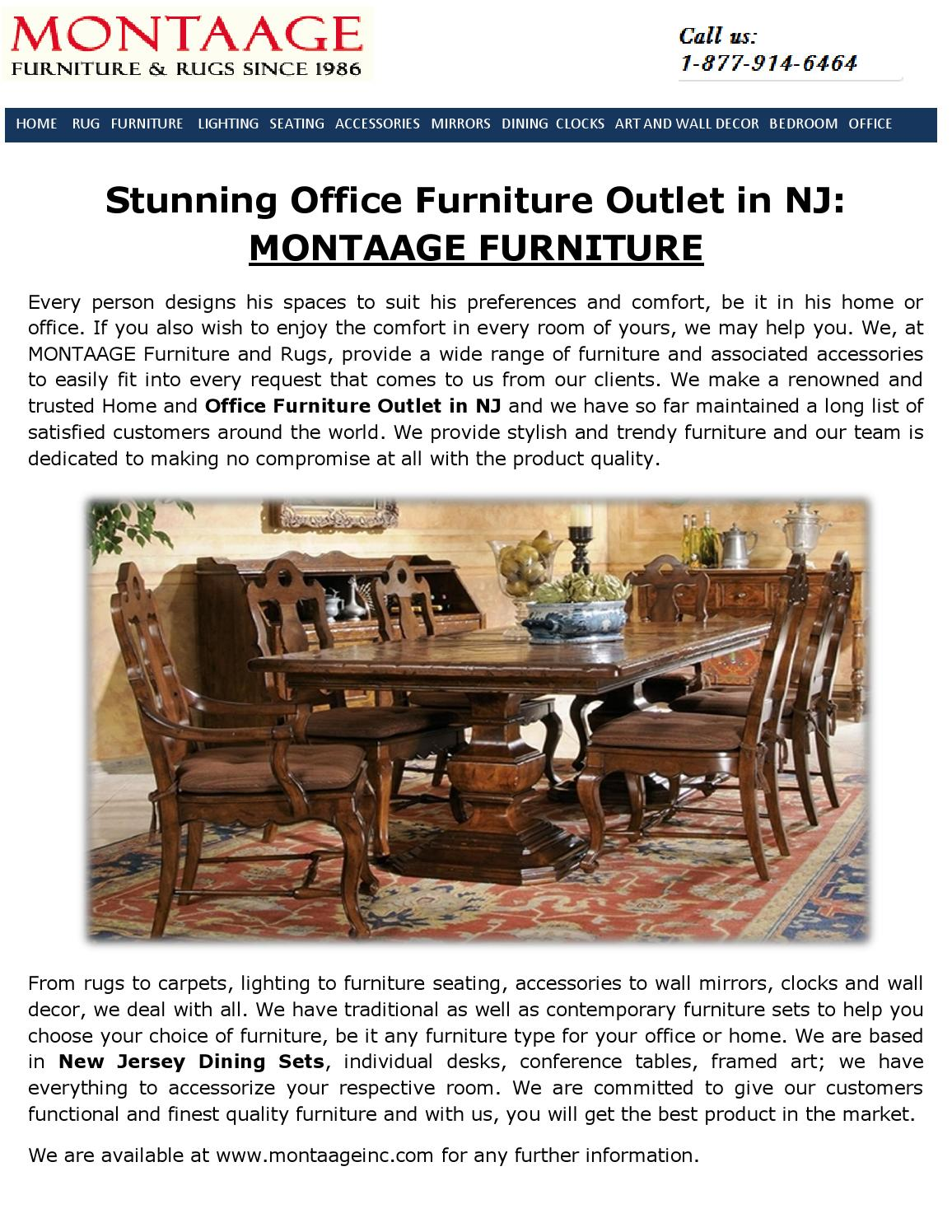 Office Furniture Outlet In Nj By Montaage   Issuu