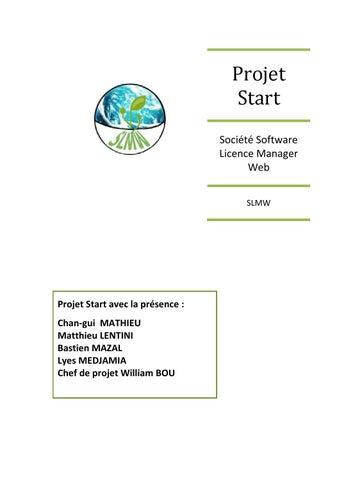Dossier final start by Matthieu Lentini - issuu