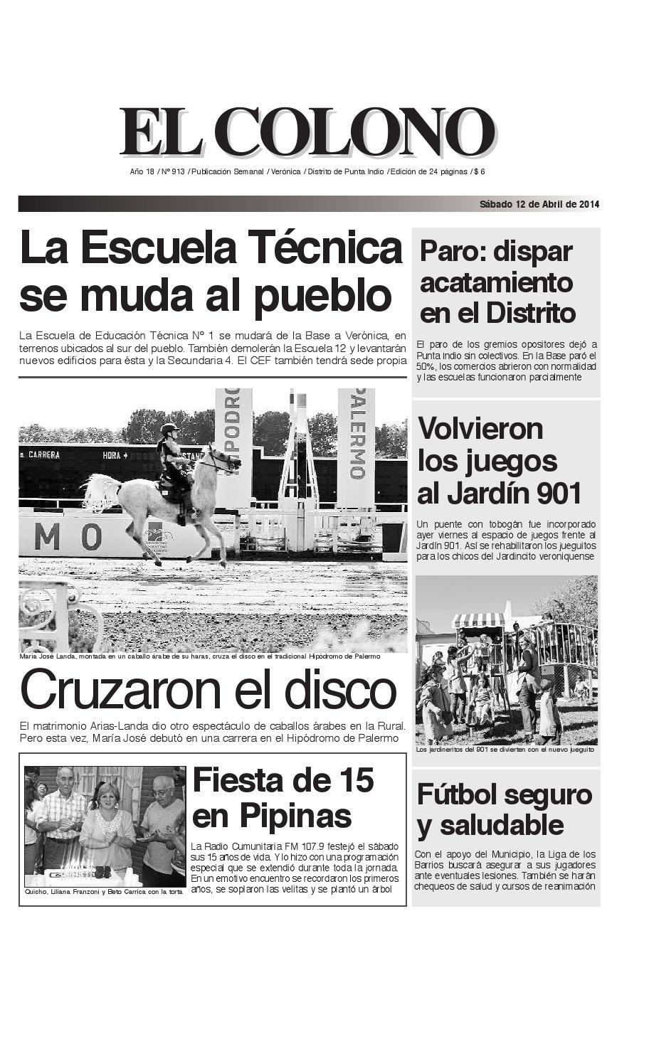 el-colono-12-04-14-de-24_el-colono-25-7-09-en-24 by El Colono de ...