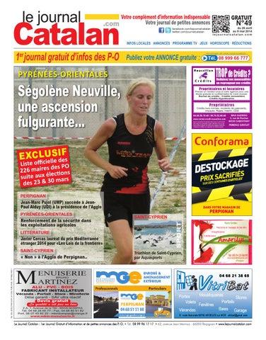 le journal catalan n 49 premier journal gratuit d 39 informations et de petites annonces des po by. Black Bedroom Furniture Sets. Home Design Ideas