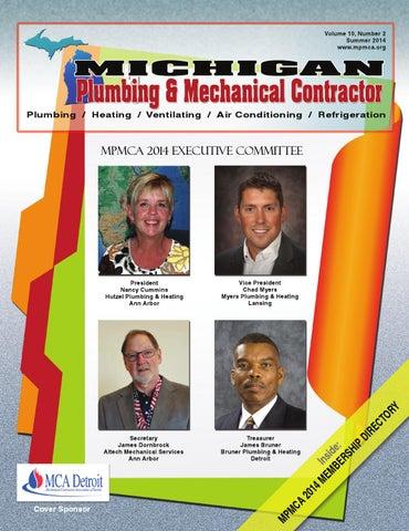 Michigan Plumbing & Mechanical Contractor, Summer 2014 by