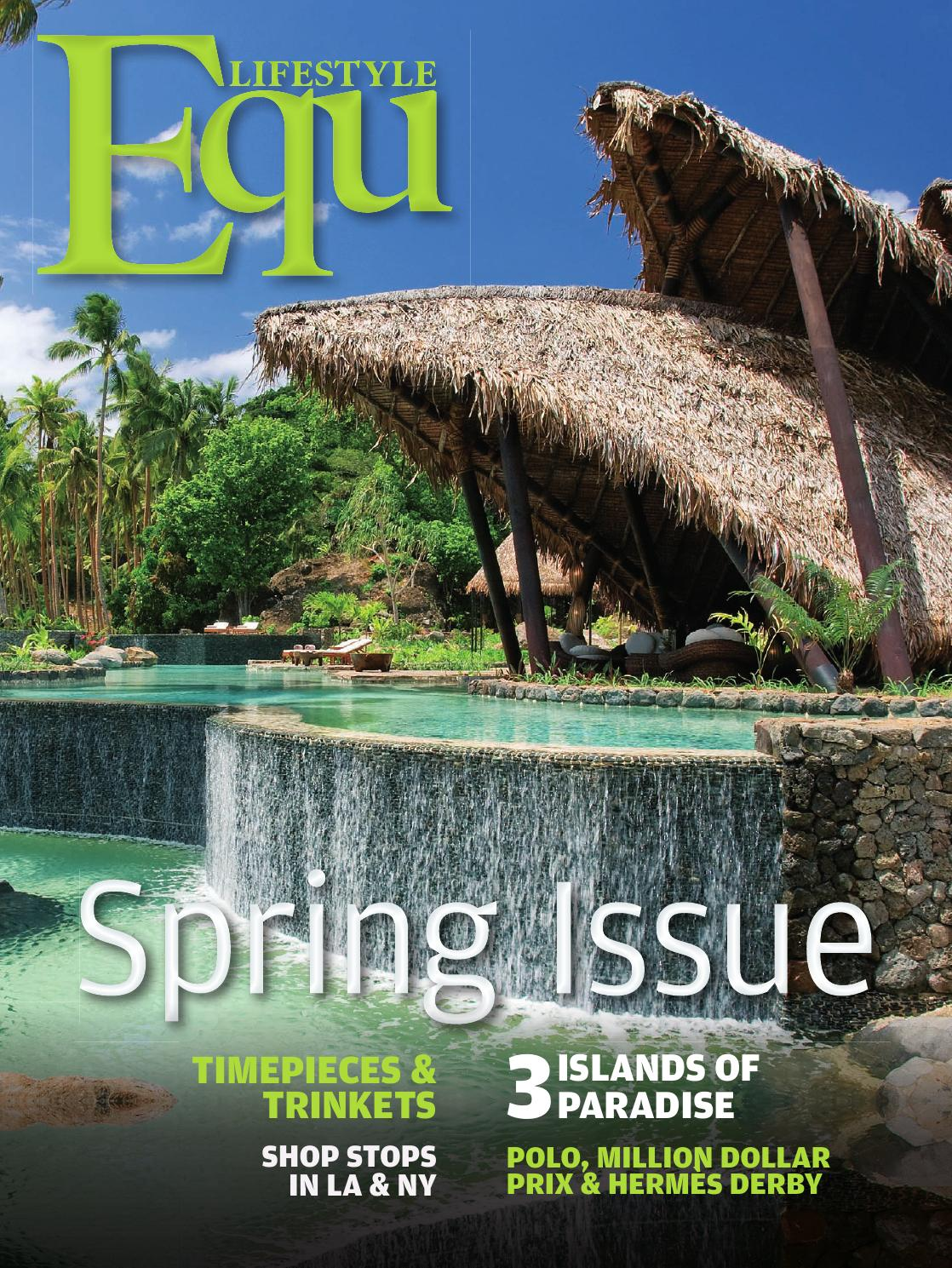 Equ Lifestyle Spring Issue By Issuu Hoc Store Titanium Cufflinks Set 09