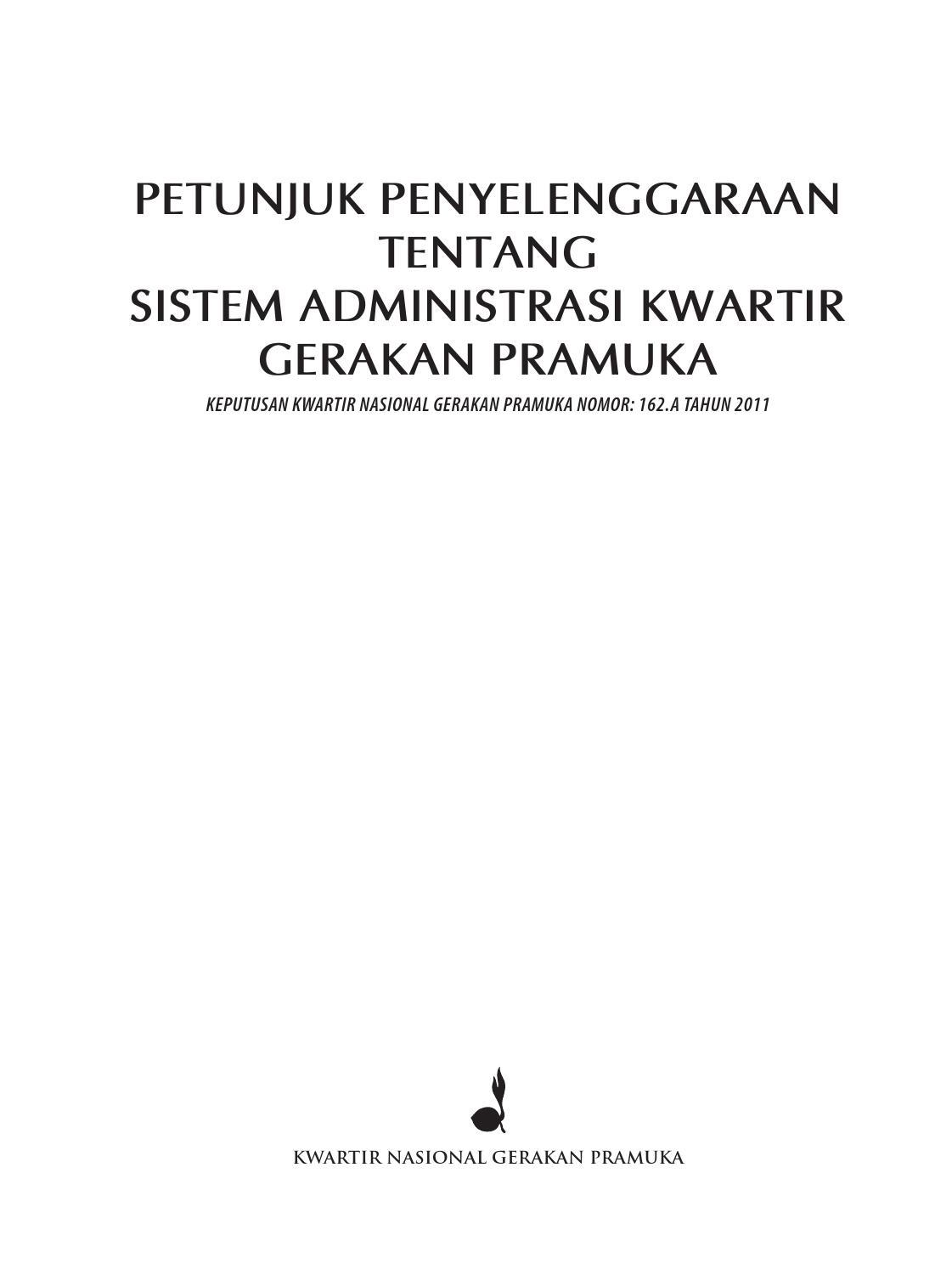 2011 Jukran Sismintir No 162 A Tahun 2011 By Muhammad Muslih