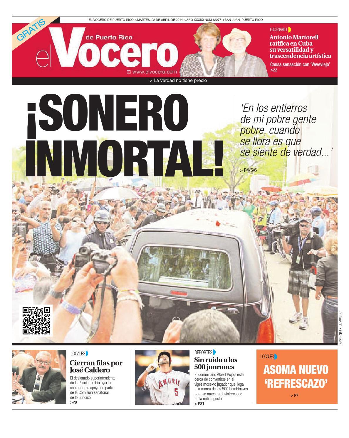 Edición 22 de Abril 2014 by El Vocero de Puerto Rico - issuu