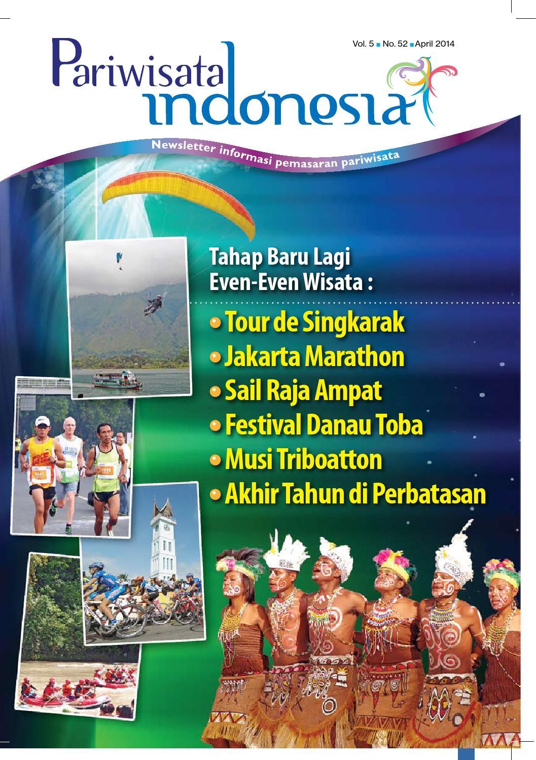 Newsletter Pariwisata Indonesia Edisi 9 - April 9 by Muhammad