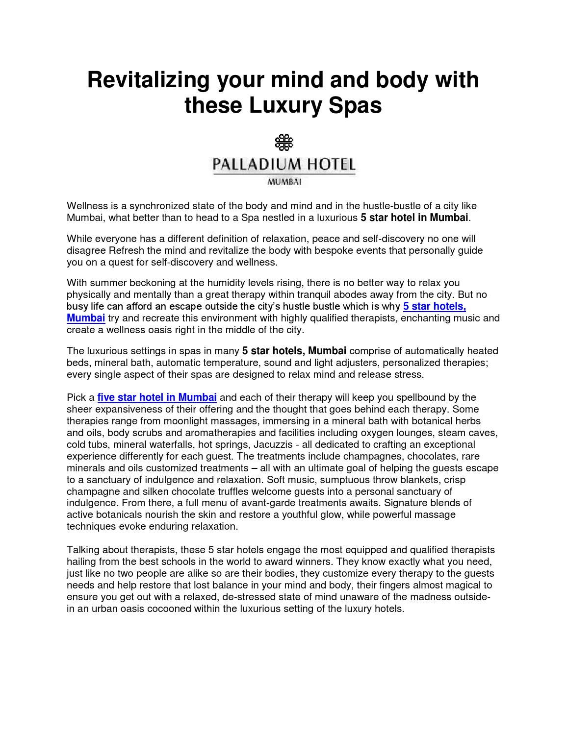 revitalizing your mind and body with these luxury spas by palladium