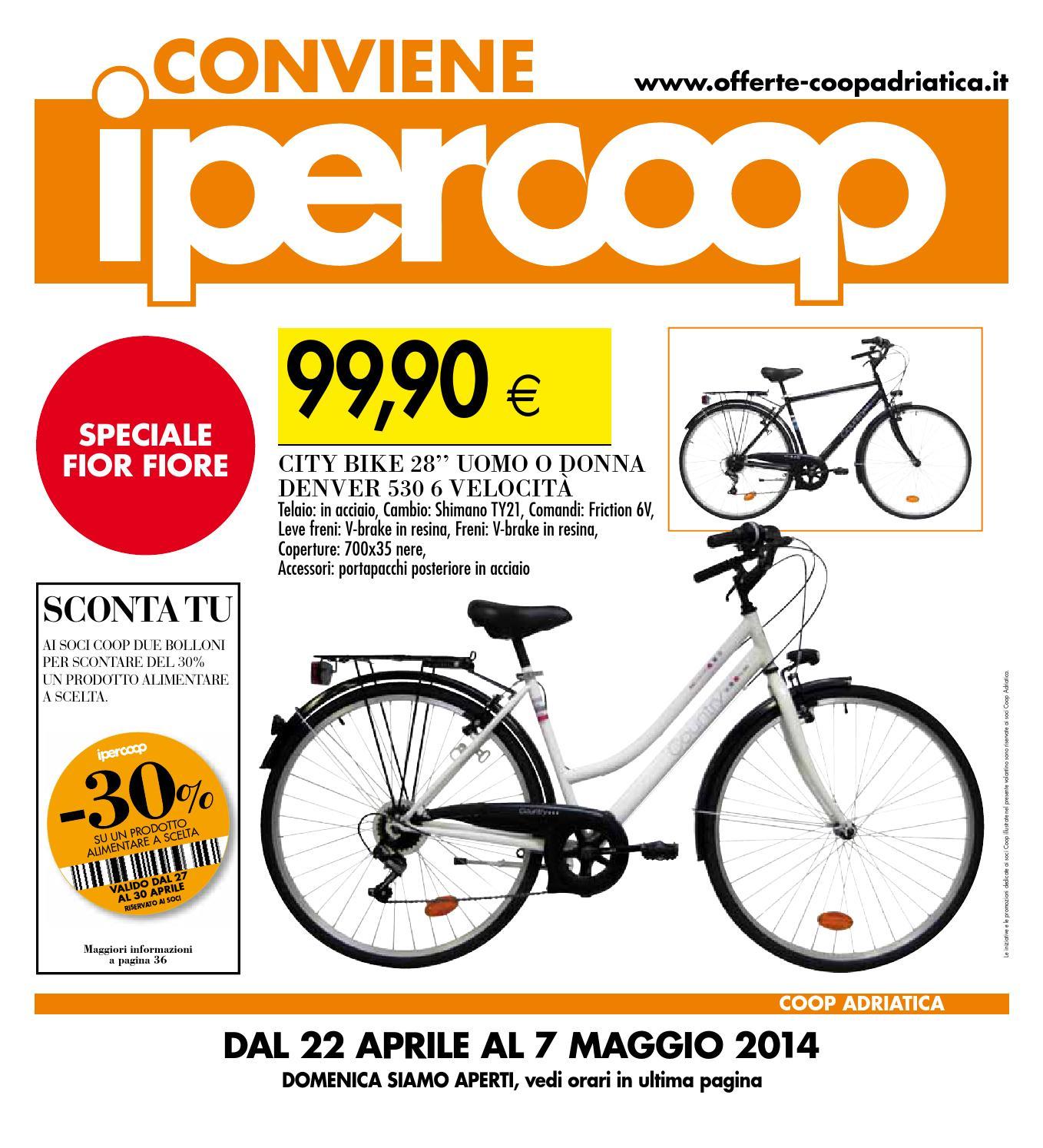 Bicicletta Offerta Volantino Ipercoop