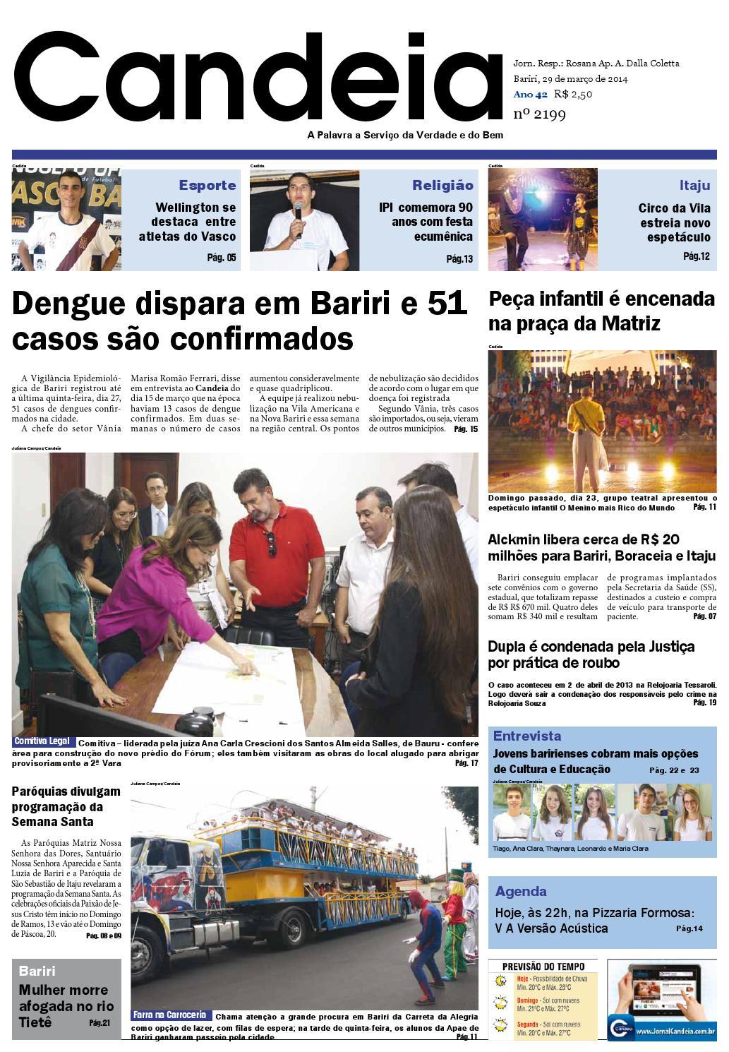 b19f3480bf56a Jornal candeia 29 03 2014 by Jornal Candeia - issuu