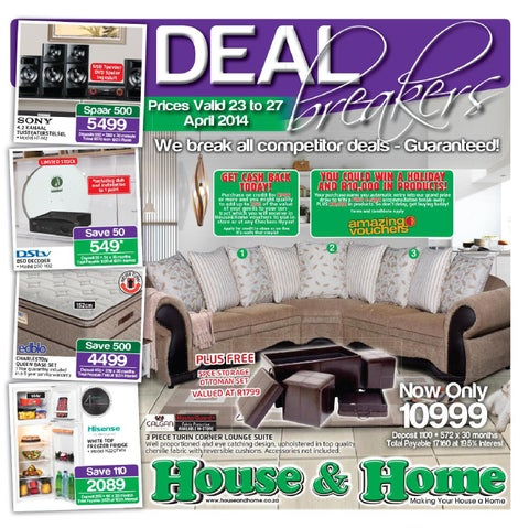 House   Home Catalogue Validity 23rd 27th April 2014. OK Furniture Catalogue Validity 5th 17th August 2014 by OK
