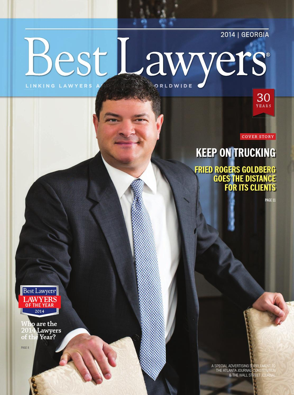 eddd20c2c7e903 Best Lawyers in Georgia 2014 by Best Lawyers - issuu