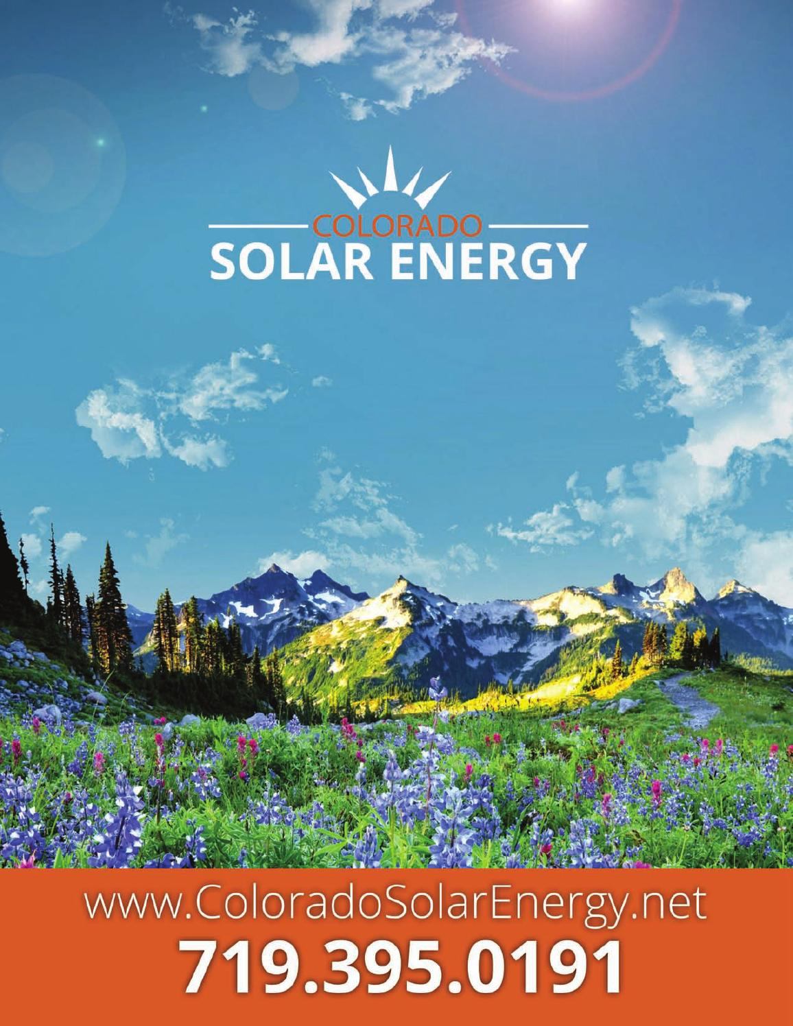 Colorado Solar Energy Catalog By Crops315 Issuu Line Diagram 4100 Watt Pv System Using Enphase M 210 Inverters Http