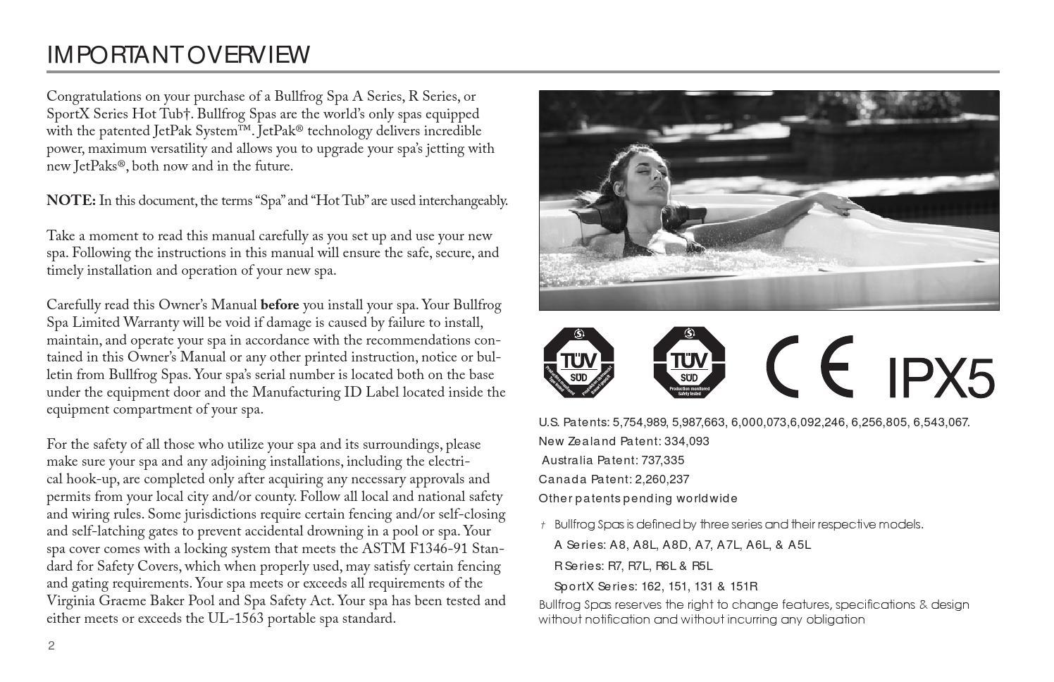 bullfrog manual 2013 by envirosmarte hot tubs swim spas issuu rh issuu com Sunrise Spa Wyomissing PA Sunrise Spa Flushing NY Yelp