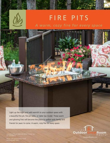 Ogr Fire Pit Brochure 2013 By Marx Fireplaces Amp Lighting Issuu