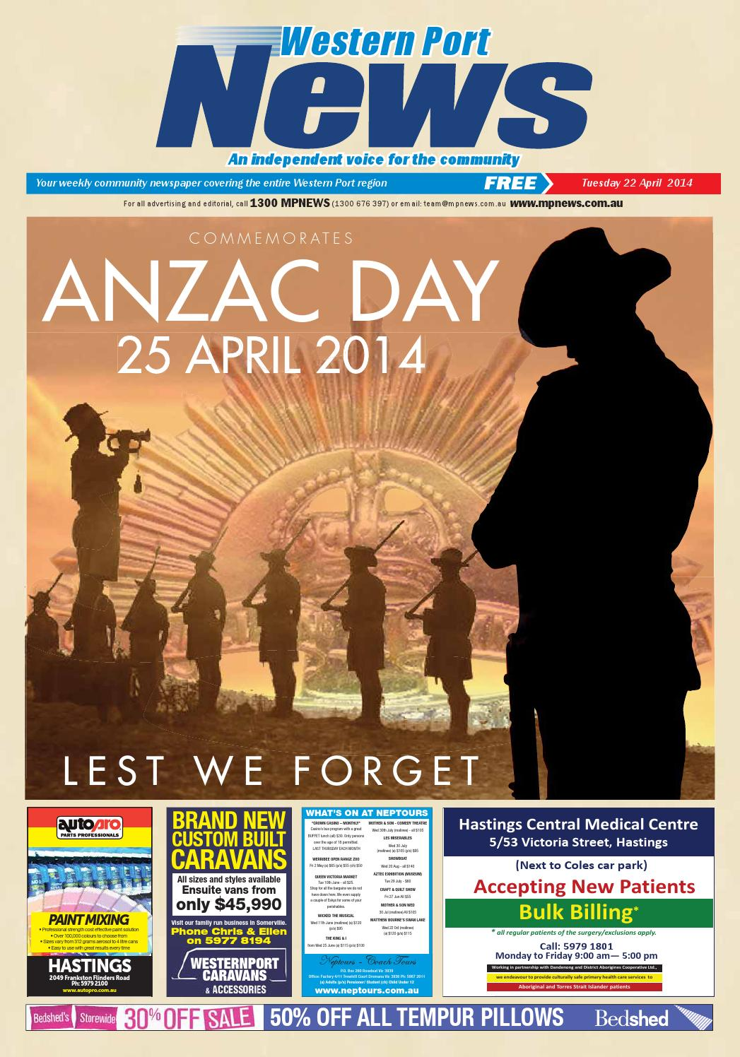 1cac1f5745 22nd April 2014 by Mornington Peninsula News Group - issuu
