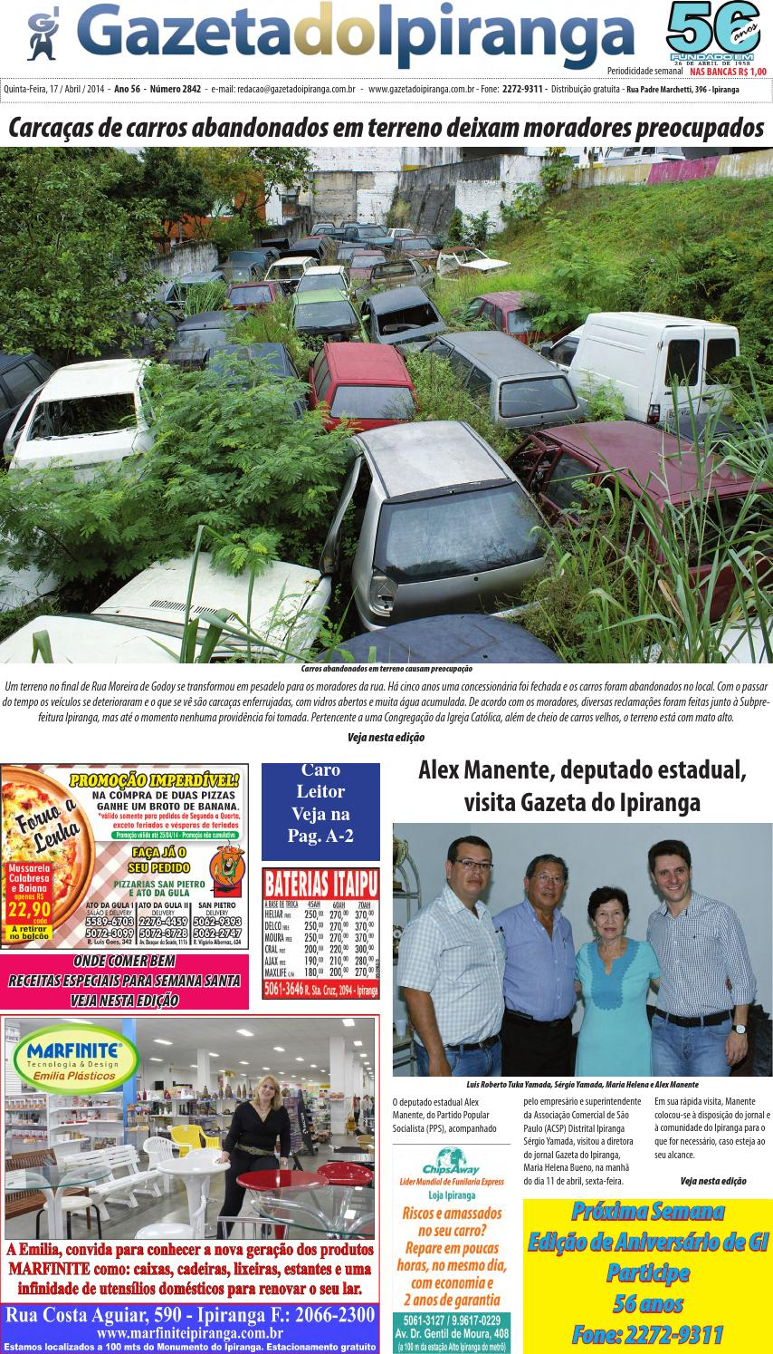 ad3b110482c6b Edicao de 17 04 2014 by Casé Oliveira - issuu