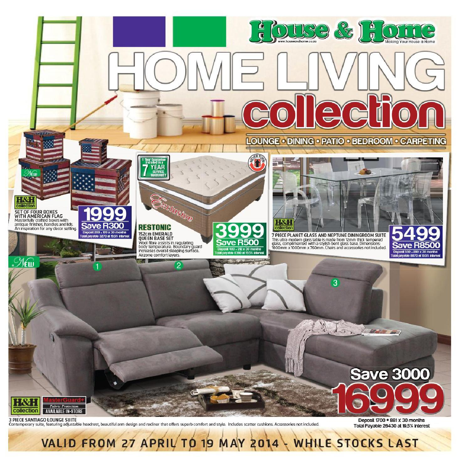 House home furniture catalogue rsa validity 27th april for Furniture catalogue