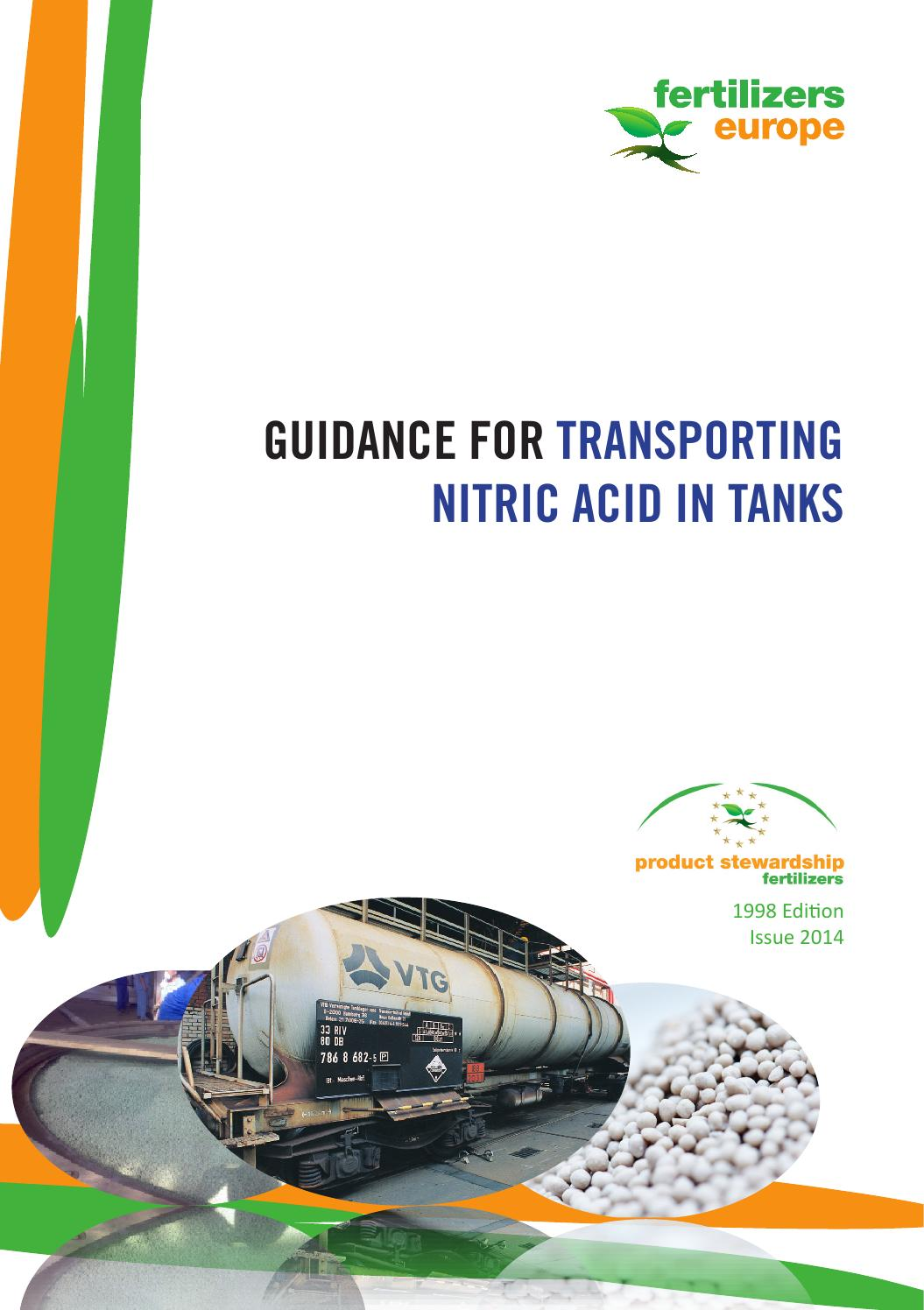 Guidelines for transporting nitric acid in tanks final by