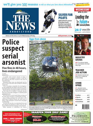 e8d0604ac06625 Abbotsford News, April 23, 2014 by Black Press Media Group - issuu