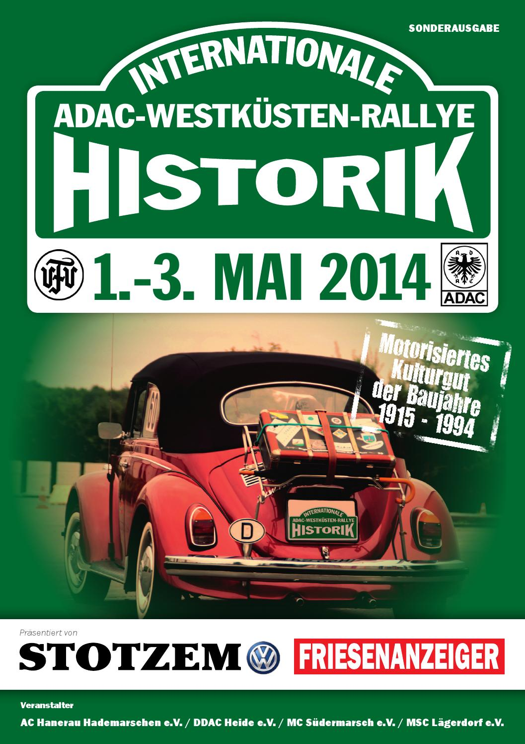 Internationale ADAC-Westküsten-Rallye by new media works - issuu