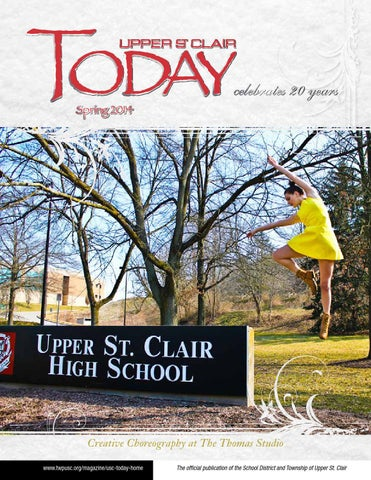 3ee0dab130d SPRING 2014 UPPER ST. CLAIR TODAY by UPPER ST. CLAIR TODAY Magazine ...