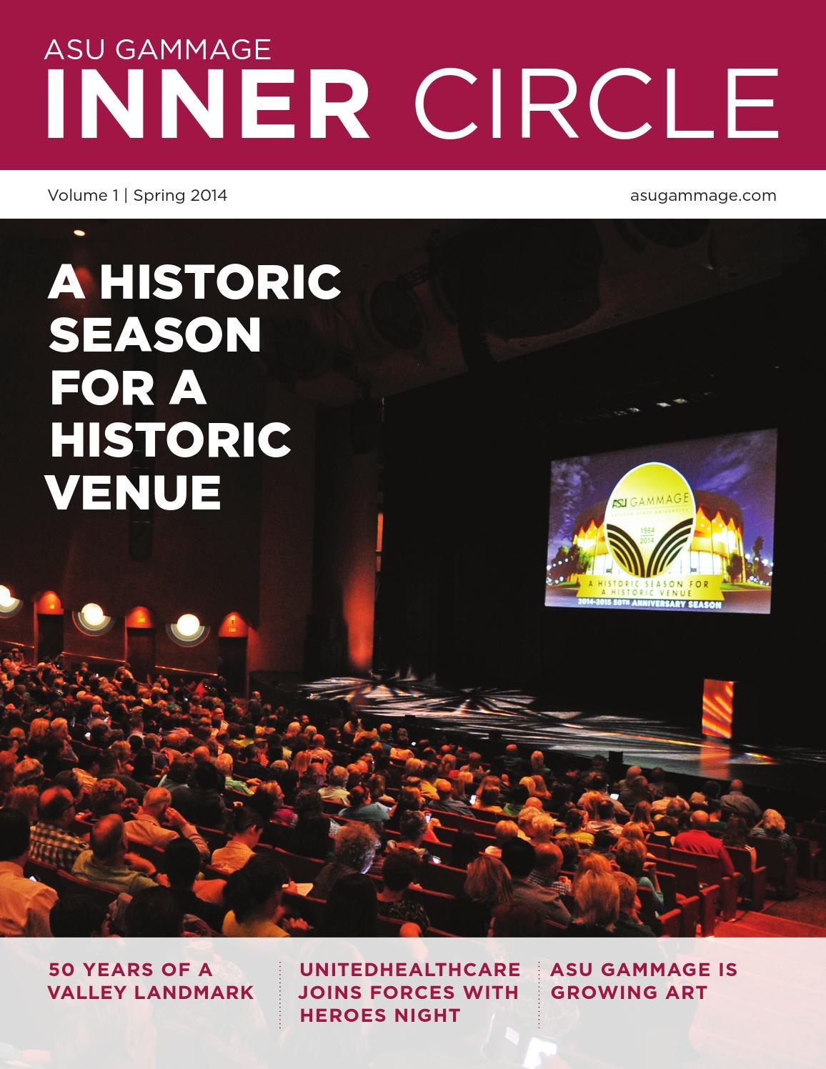 ASU Gammage Inner Circle Magazine Volume 1 by ASU Gammage - issuu ec9ddba59d