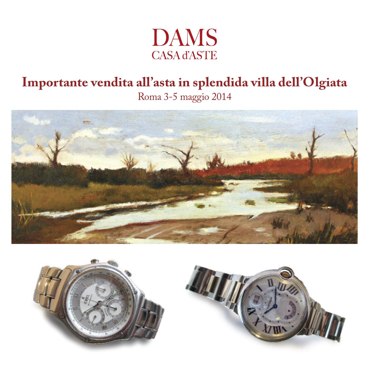 Dams vendita all asta in splendida villa dell olgiata by for Case all asta a roma