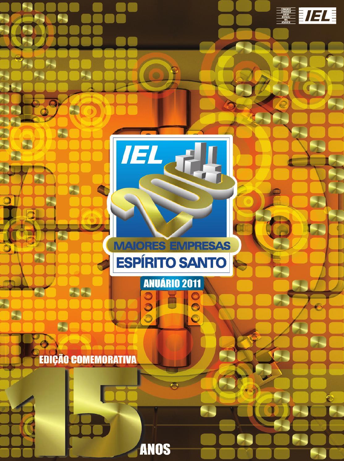 Anuário IEL 200 Maiores Empresas no Espírito Santo by Next Editorial - issuu a990c3c5bb378