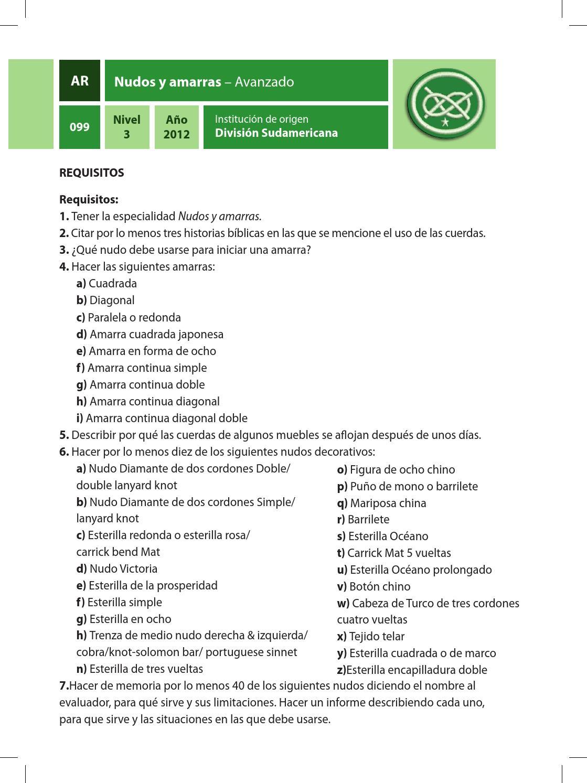Manual de Especialidades Actividades Recreativas by