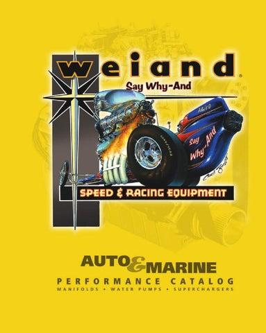 Weiand 9603 Nose Seal Carburetor Adapter