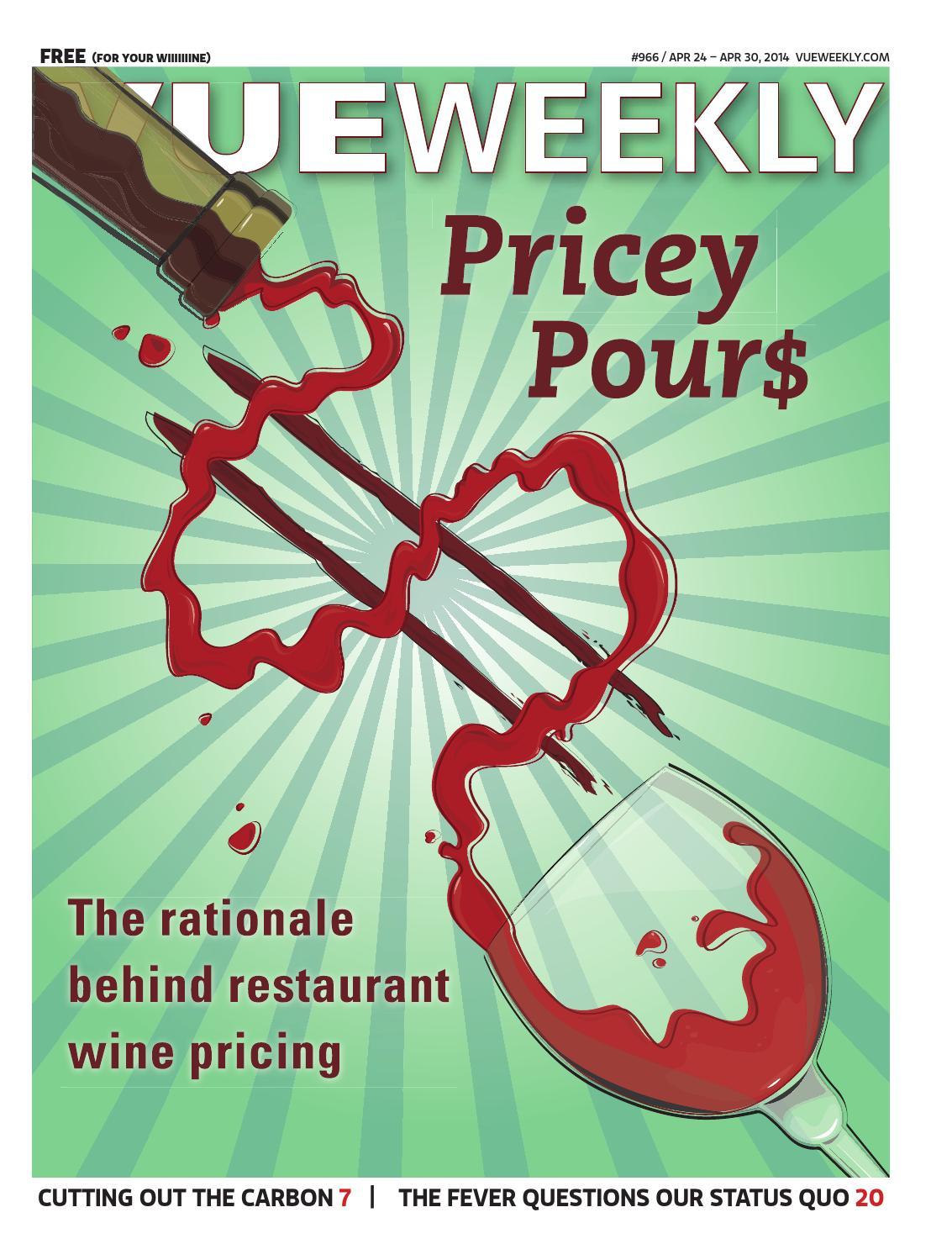 966 Pricey Pours By Vue Weekly Issuu