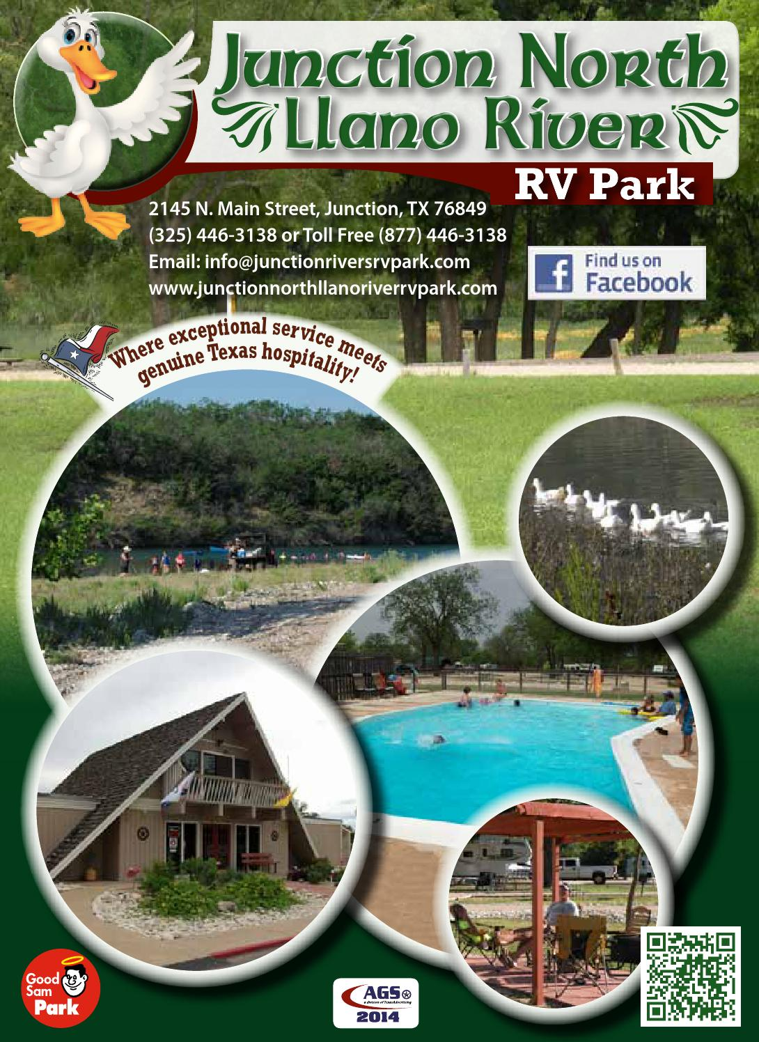 Junction North Llano River Rv Park By Ags Texas