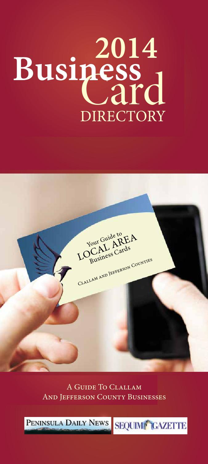 Business Directory - 2014 Business Card Directory by Sound ...