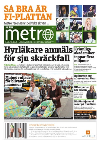 super popular 88d67 3ec2c 20140424 se malmo by Metro Sweden - issuu