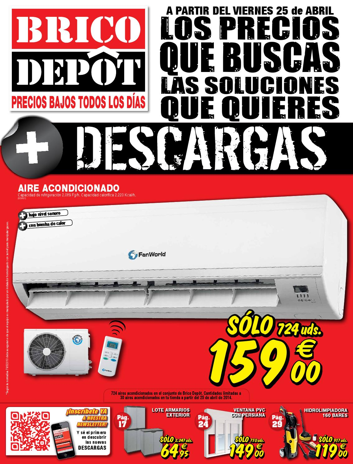 Bricodepot Catalogue 25abril 8mayo2014 By Catalogopromociones Com
