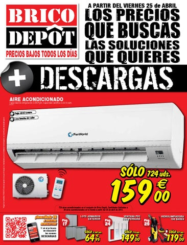 Bricodepot catalogue 25abril 8mayo2014 by for Compresor de aire bricodepot