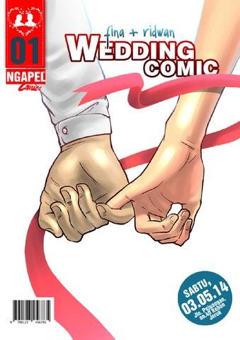 "Wedding comic ""Fina + Ridwan"""
