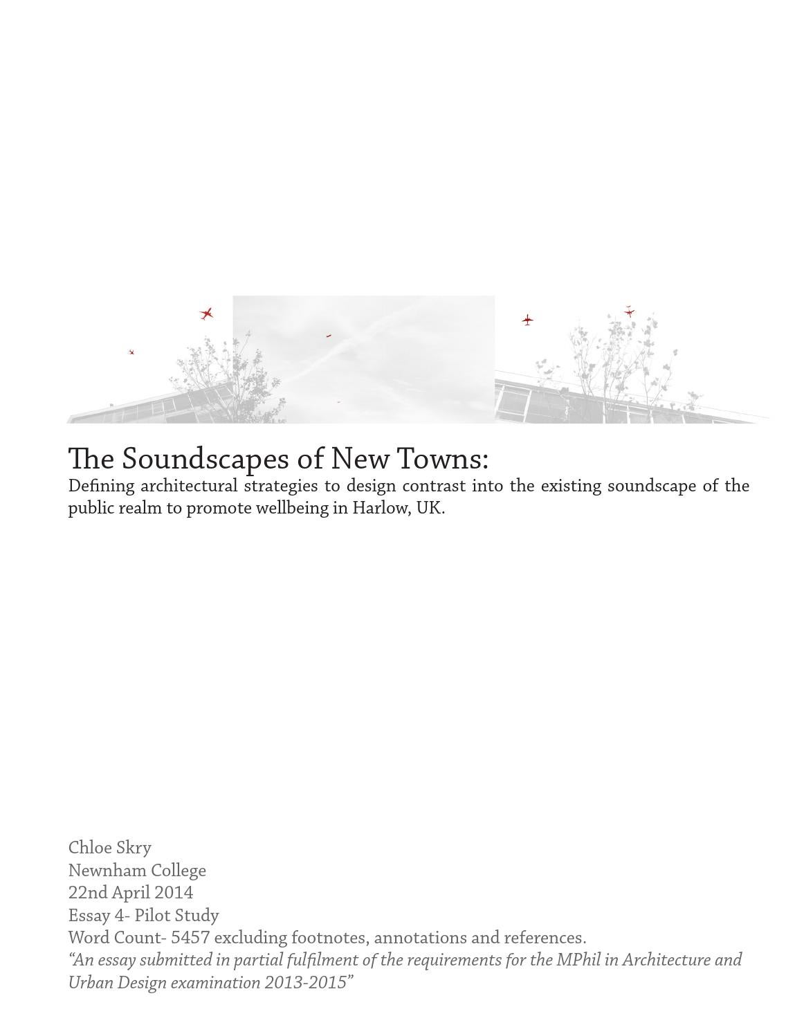 the soundscapes of new towns chloe skry by dan ladyman issuu