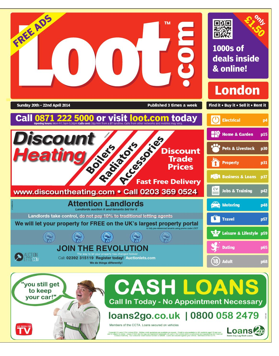 Loot London, 20th March 2014 by Loot - issuu
