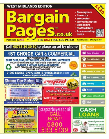 5ee7105f3 Bargain Pages Midlands, 22nd April 2014 by Loot - issuu