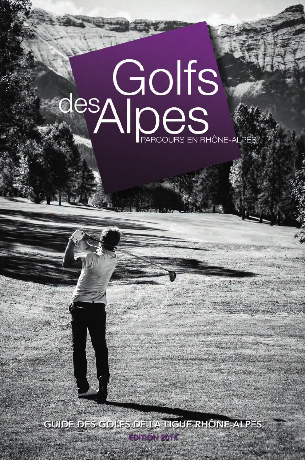 golfs des alpes 2014 by thecombox issuu. Black Bedroom Furniture Sets. Home Design Ideas