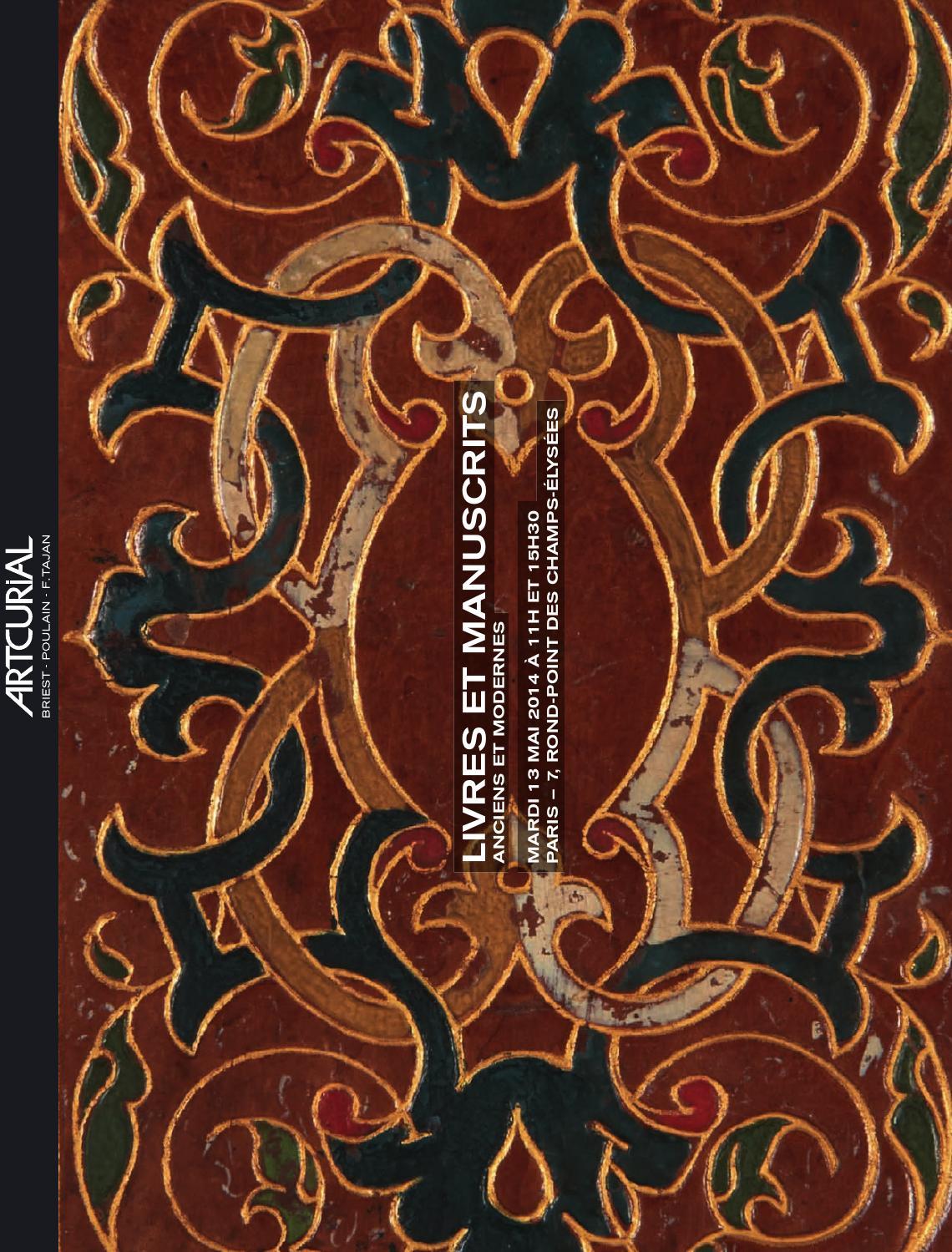 Livres et Manuscrits anciens   modernes — Bibliothèque Fougères by  Artcurial - issuu 382f0749c554