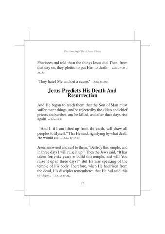 The amazing life of JESUS CHRIST by Tabernacle School of